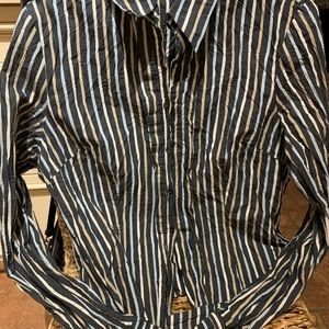 Mexx crinkle Button down shirt, size 10